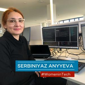 Serbiniyaz Anyyeva, Algorithmus- und Software-Entwicklerin bei Viewpointsystem